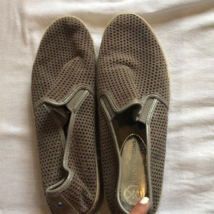 tan michael kors shoes